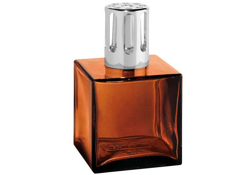 _DISCONTINUED - Cube Amber Fragrance Lamp by Lampe Berger