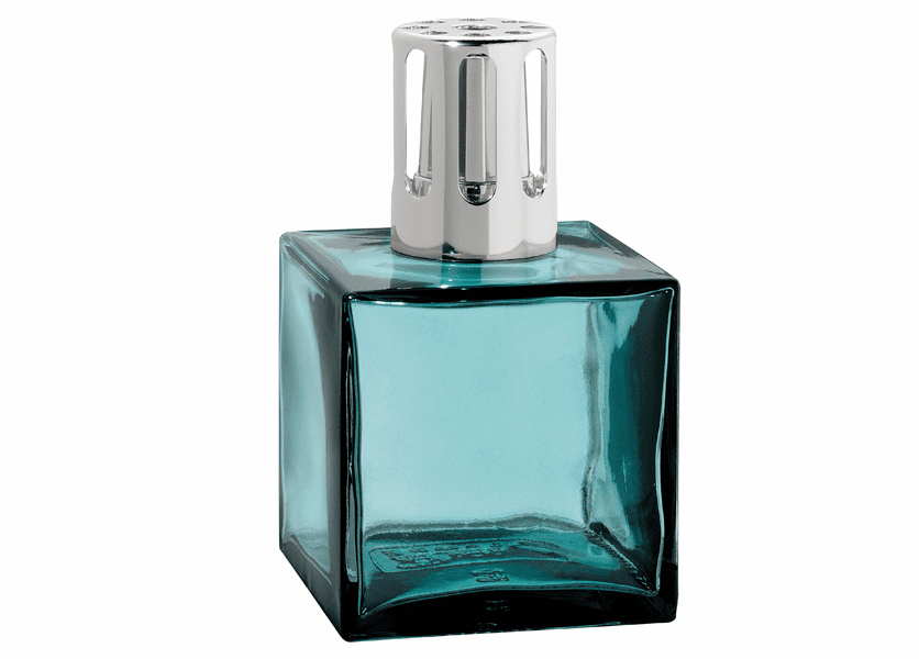 _DISCONTINUED - Cube Blue Fragrance Lamp by Lampe Berger