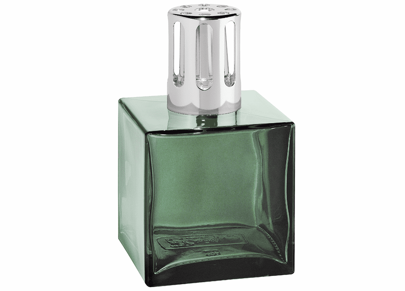_DISCONTINUED - Cube Green Fragrance Lamp by Lampe Berger