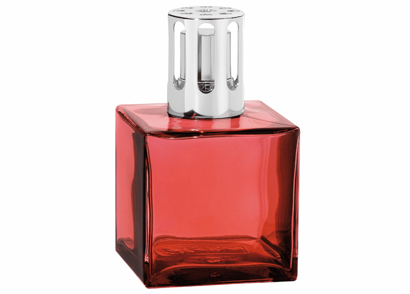 _DISCONTINUED - Cube Paprika Fragrance Lamp by Lampe Berger