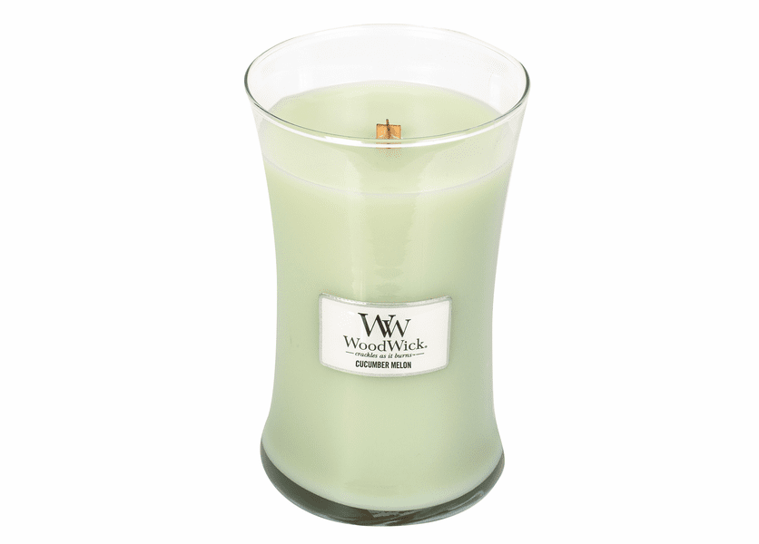 _DISCONTINUED - Cucumber Melon WoodWick Candle 22 oz.