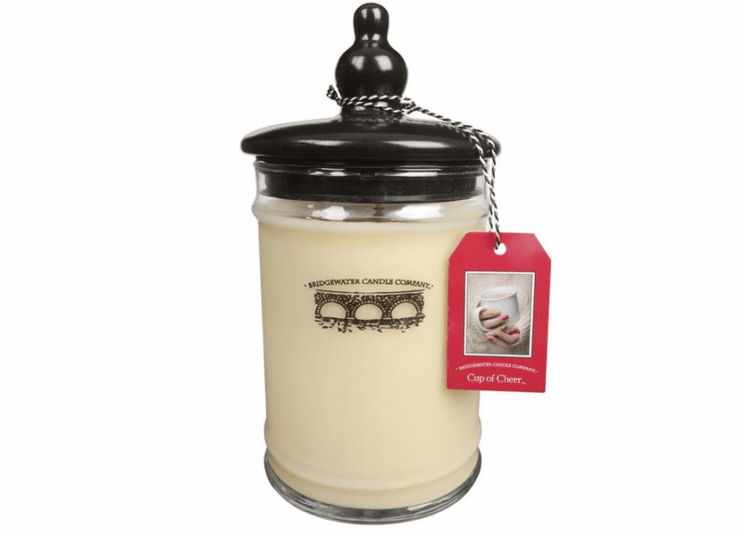 _DISCONTINUED - Cup of Cheer Large Jar Candle - Bridgewater