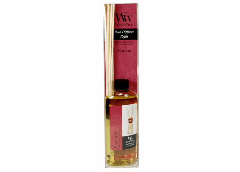 _DISCONTINUED - Currant WoodWick 7.4 oz. Reed Diffuser REFILL