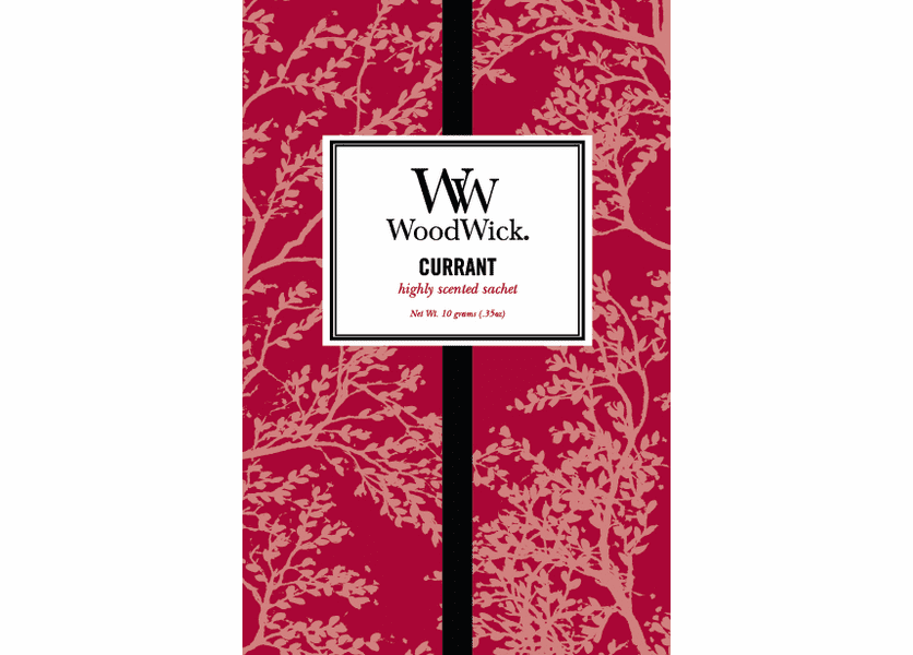 _DISCONTINUED - Currant WoodWick Sachet