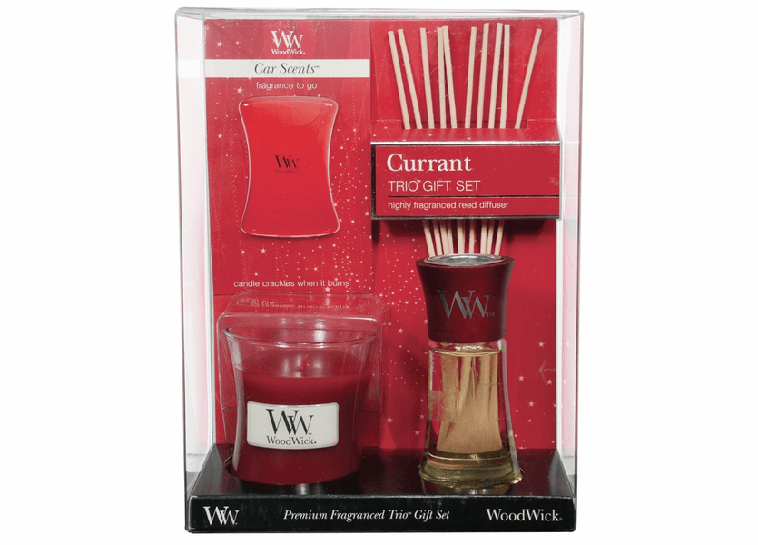 _DISCONTINUED - Currant WoodWick Trio Gift Set