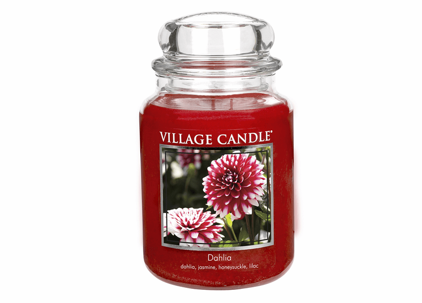 _DISCONTINUED - Dahlia 26 oz. Premium Round by Village Candles