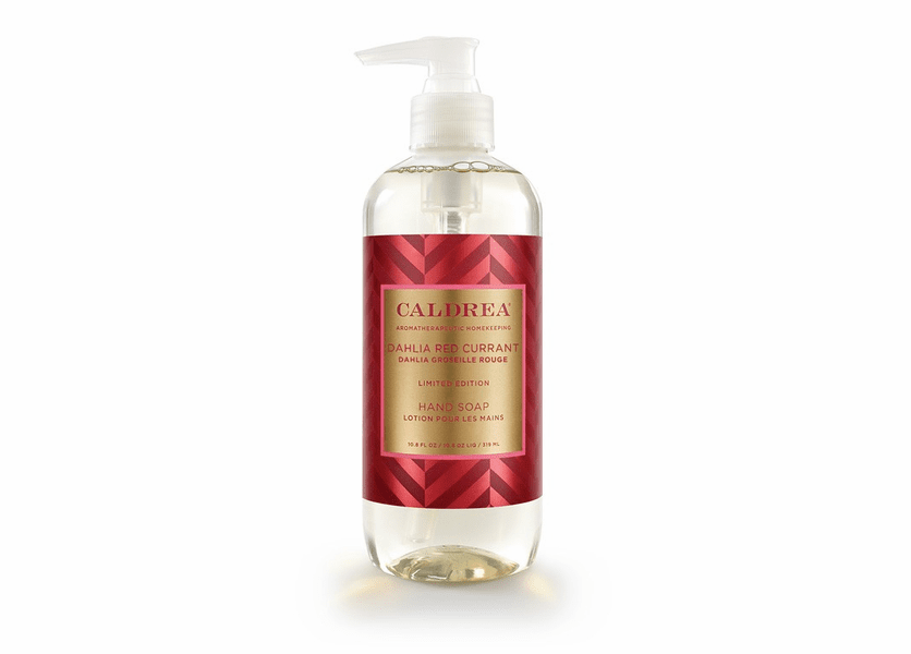 _DISCONTINUED - *Dahlia Red Currant Limited Edition 10.8 oz. Hand Soap by Caldrea