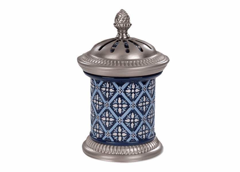 _DISCONTINUED - Damask & Metal Aroma Decor Diffuser by Greenleaf