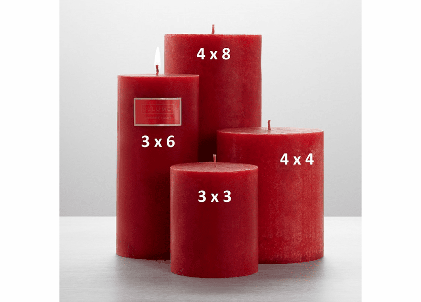 _DISCONTINUED - Desert Tulip 4 x 8 Round Pillar Illume Candle