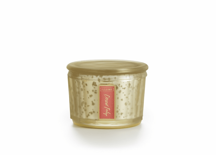 _DISCONTINUED - Desert Tulip Demi Lustre Jar Illume Candle