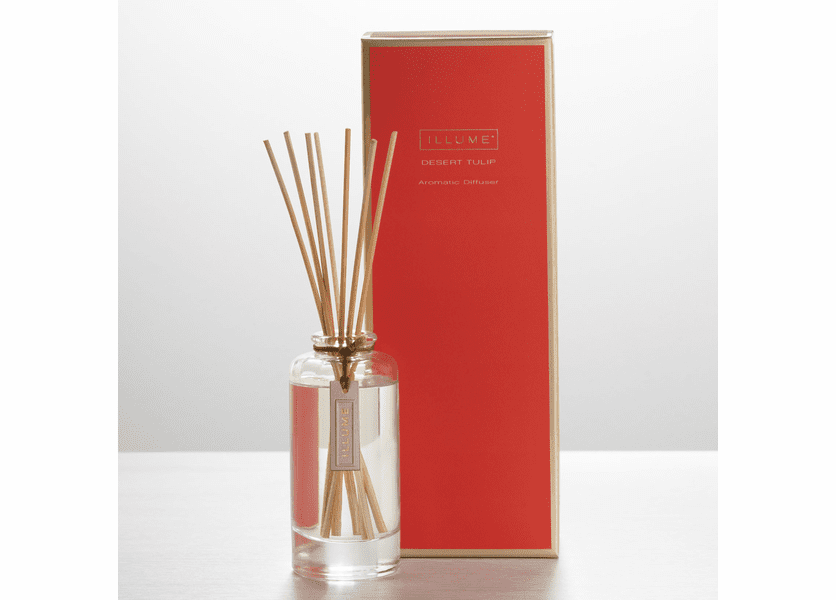 _DISCONTINUED - Desert Tulip Essential Reed Diffuser Illume Candle