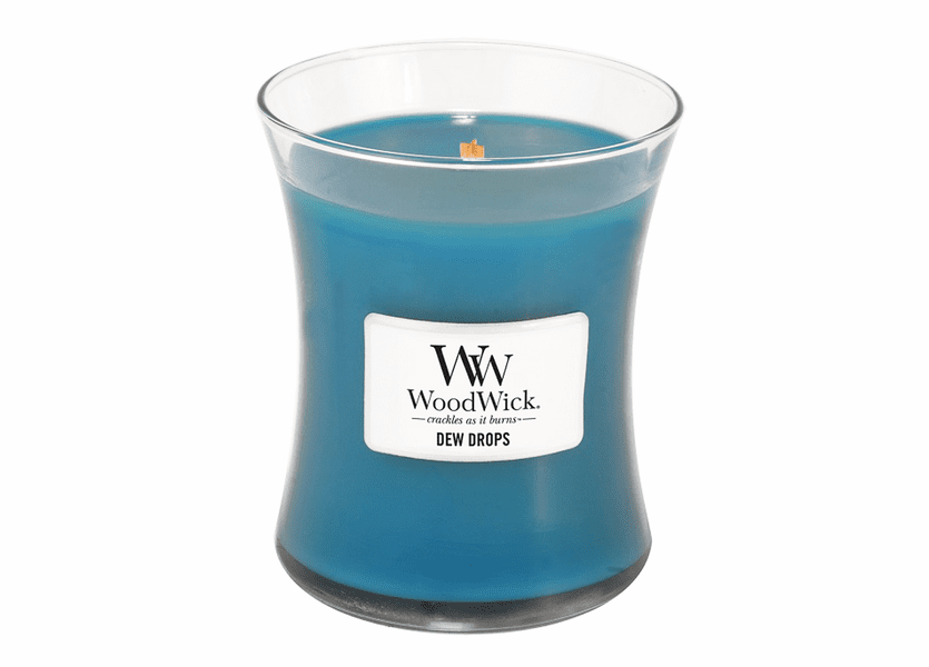 _DISCONTINUED - Dew Drops WoodWick Candle 10 oz.