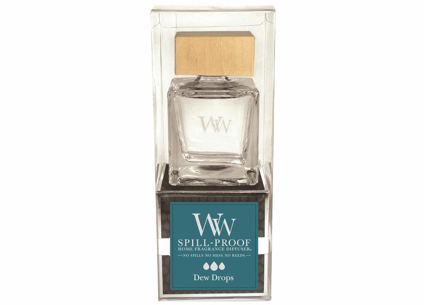 _DISCONTINUED - Dew Drops WoodWick Spill-Proof Diffuser