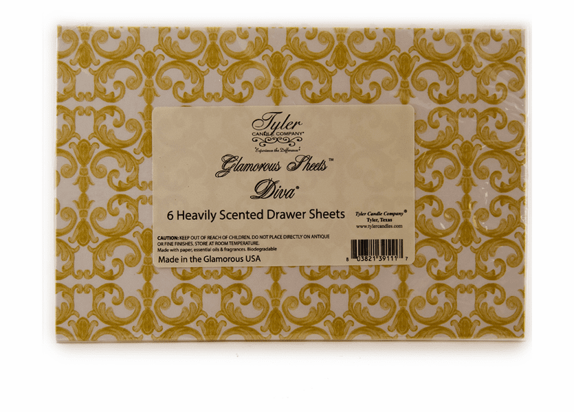 _DISCONTINUED - Diva Glamourous Sheets by Tyler Candle Company