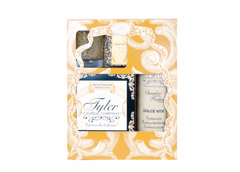 _DISCONTINUED - Dolce Vita Glamorous Gift Suite II by Tyler Candle Company