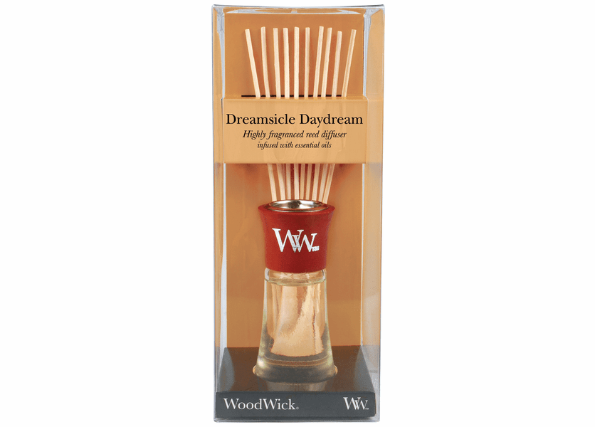 _DISCONTINUED - Dreamsicle Daydream WoodWick 2 oz. Reed Diffuser