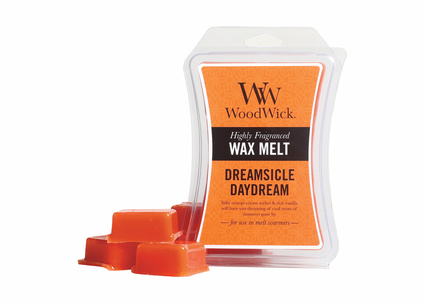 _DISCONTINUED - Dreamsicle Daydream WoodWick 3 oz. Hourglass Wax Melt