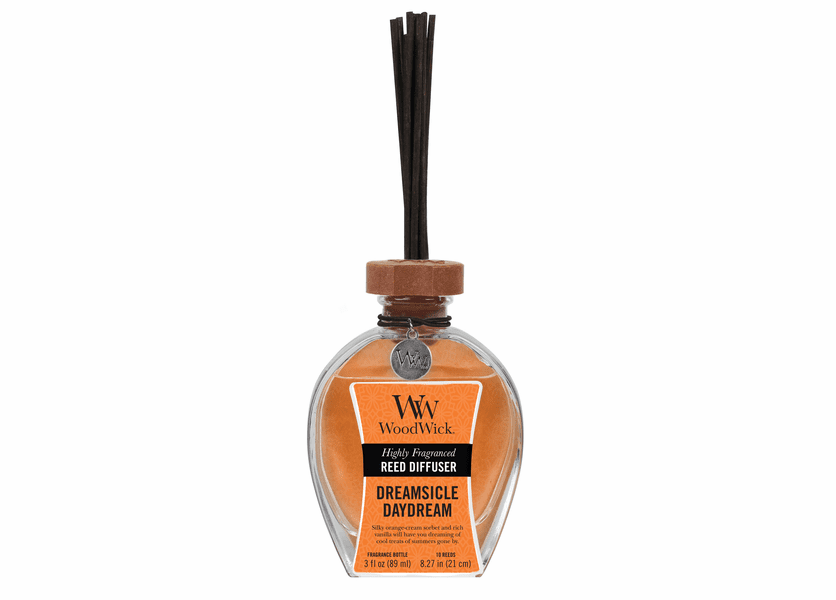 _DISCONTINUED - Dreamsicle Daydream WoodWick 3 oz. Reed Diffuser