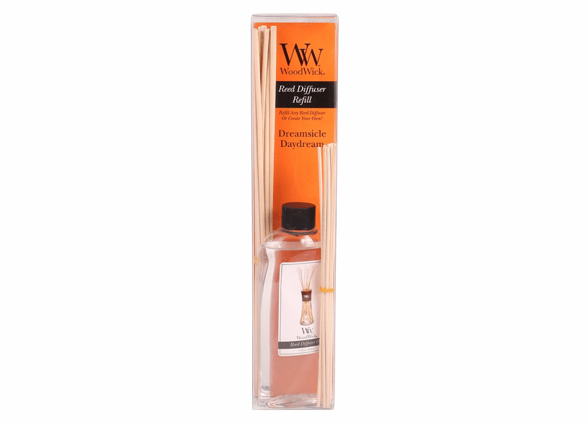 _DISCONTINUED - Dreamsicle Daydream WoodWick 7.4 oz. Reed Diffuser REFILL