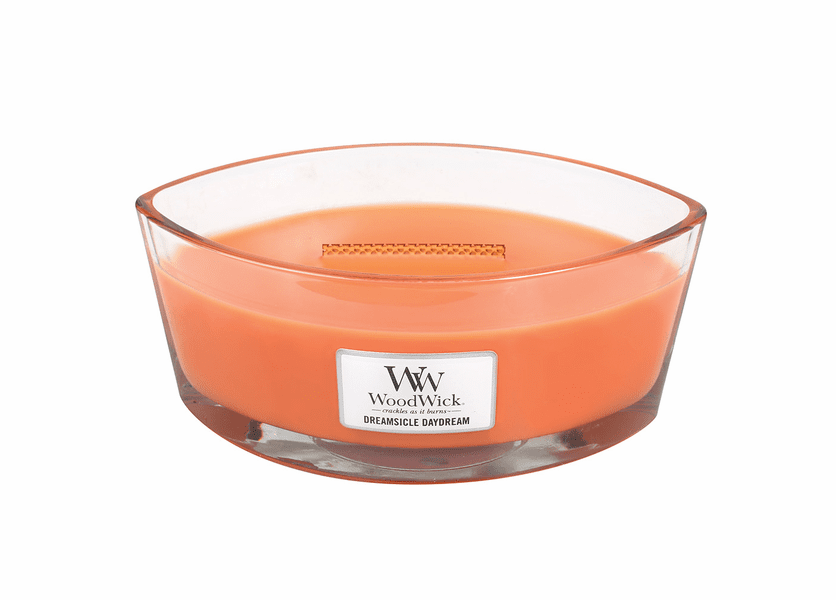 _DISCONTINUED - Dreamsicle Daydream WoodWick Candle 16 oz. HearthWick Flame