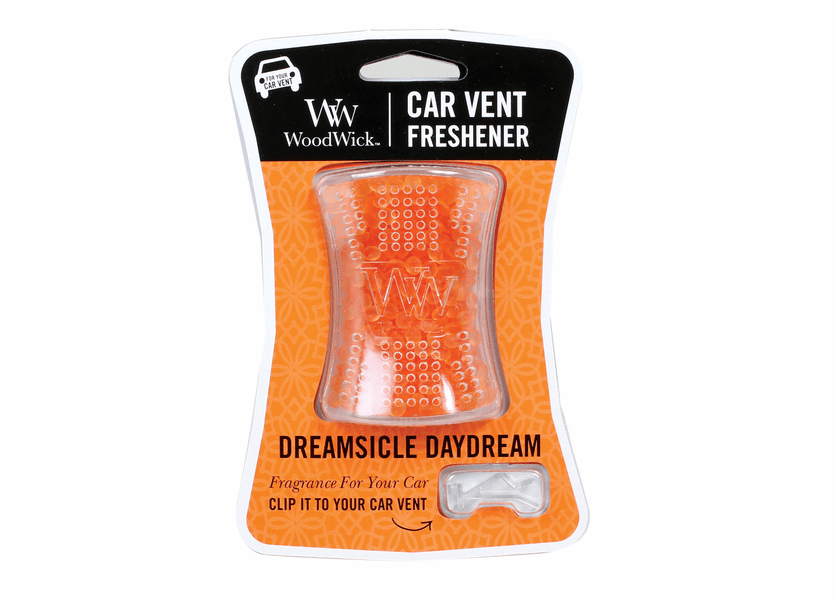 _DISCONTINUED - Dreamsicle Daydream WoodWick Car Vent Freshener