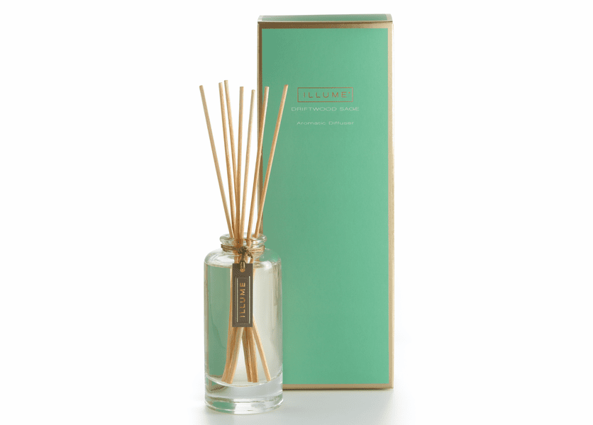 _DISCONTINUED - Driftwood Sage Essential Reed Diffuser Illume Candle