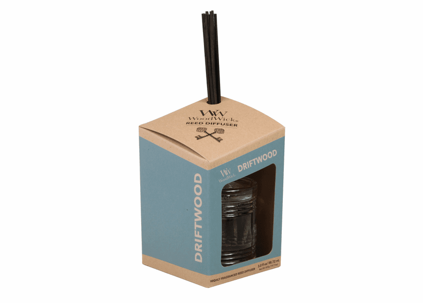 _DISCONTINUED - Driftwood WoodWick Reserve Collection Reed Diffuser