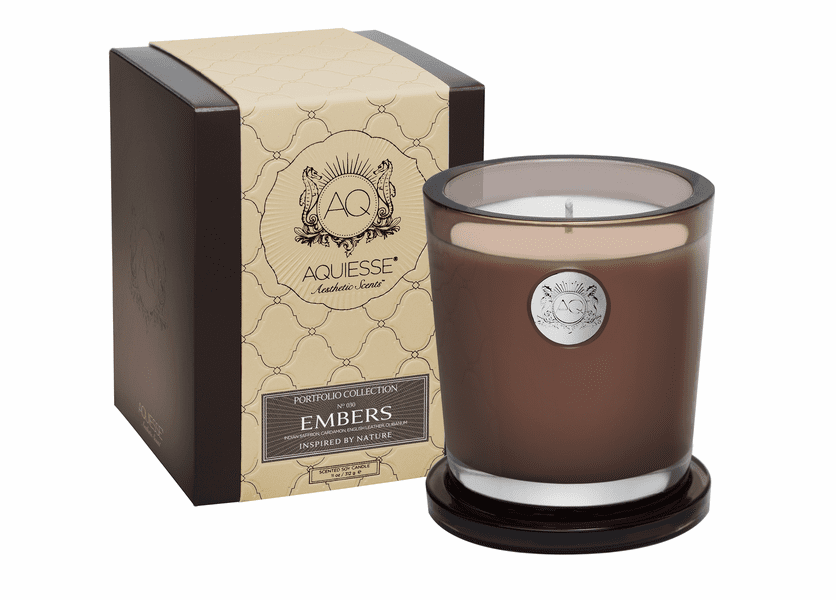 _DISCONTINUED - Embers Large Soy Candle by Aquiesse