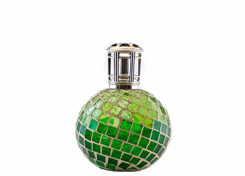 _DISCONTINUED - Emerald Mosaic Fragrance Lamp by Sophia's