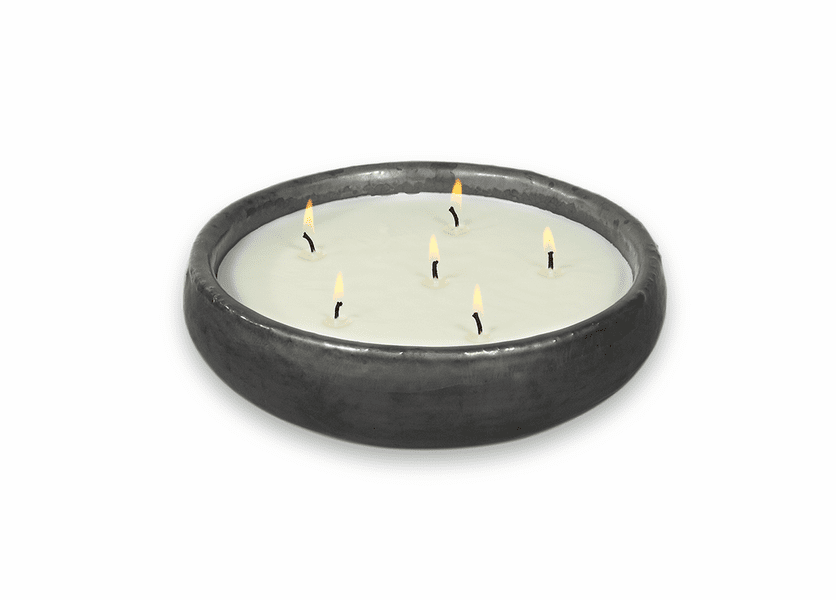 _DISCONTINUED - English Pear Saxon Gun Metal FlashPoint Candle