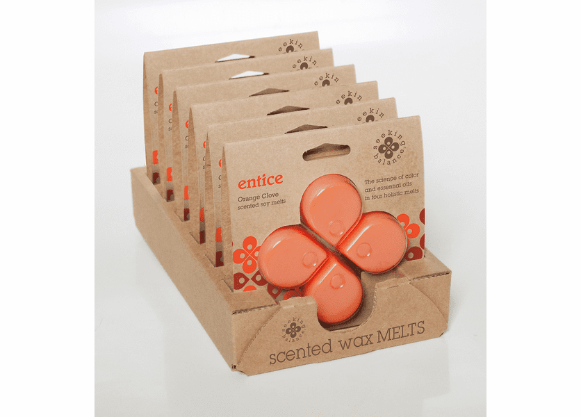 _DISCONTINUED - Entice (Orange Clove) Seeking Balance Wax Melts by Root
