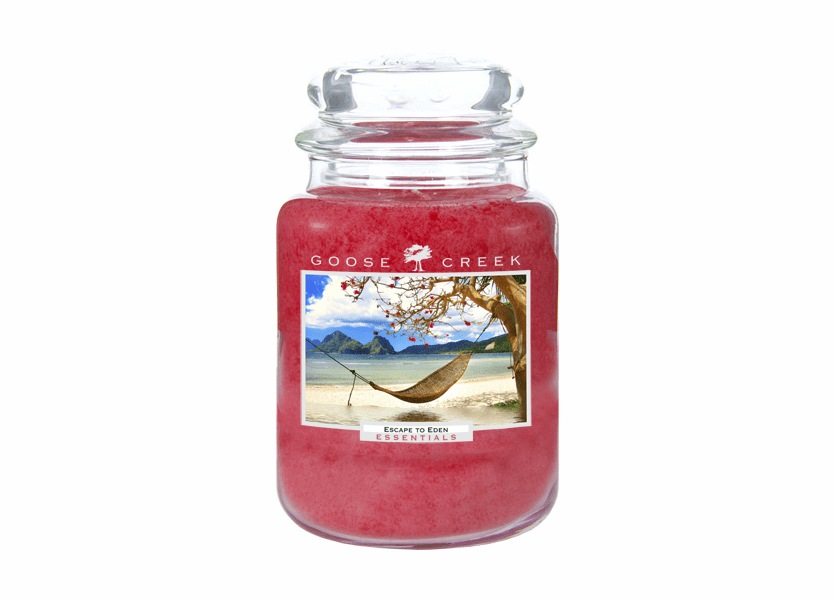 _DISCONTINUED - Escape to Eden 26 oz. Essential Series Goose Creek Jar Candle