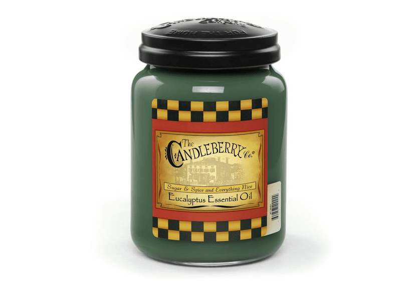 _DISCONTINUED - Eucalyptus Essential Oil 26 oz. Large Jar Candleberry Candle