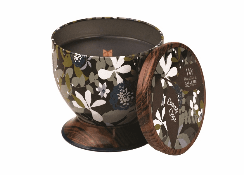 _DISCONTINUED - Evening Onyx WoodWick Gallerie Collection Candle