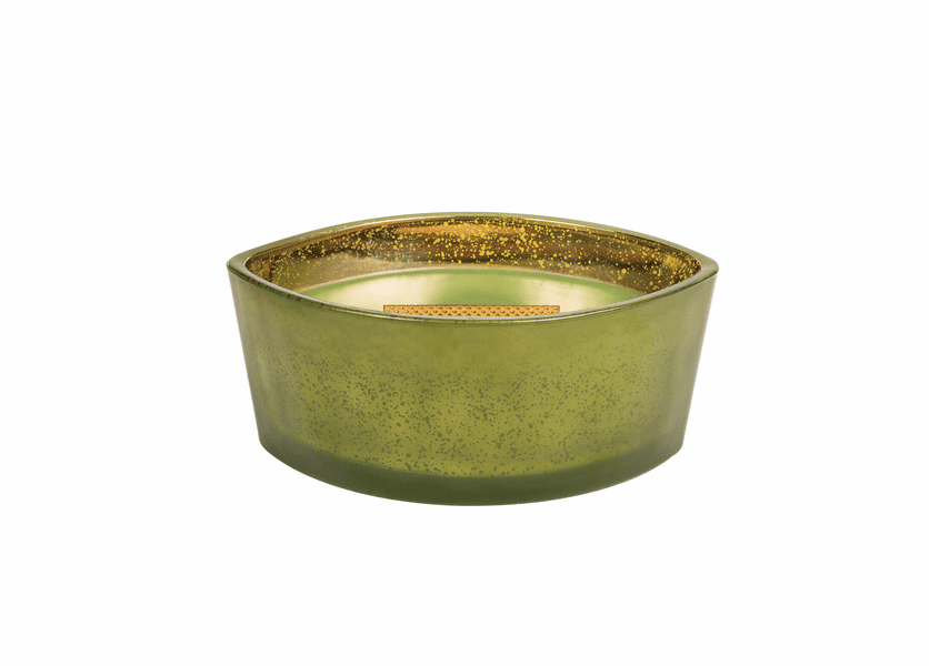 _DISCONTINUED - Evergreen Mercury Ellipse WoodWick Candle