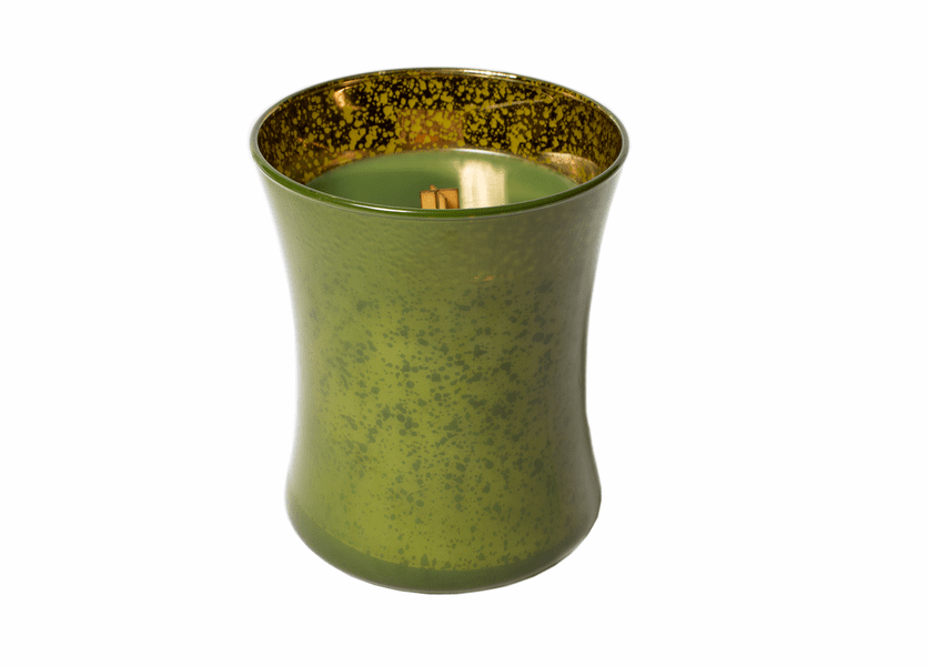 _DISCONTINUED - Evergreen Mercury Hourglass WoodWick Candle