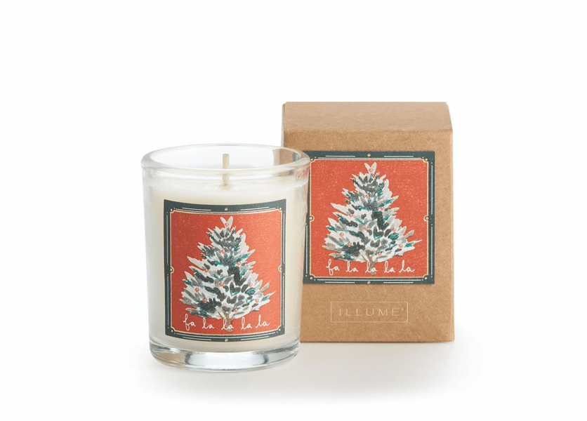 _DISCONTINUED - Fa La La La La Glad Tidings Votive by Illume Candle
