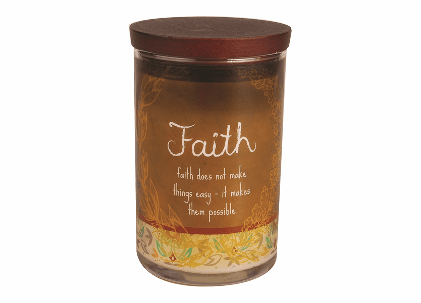 _DISCONTINUED - Faith WoodWick Inspirational Collection Candle - 9.5 oz.