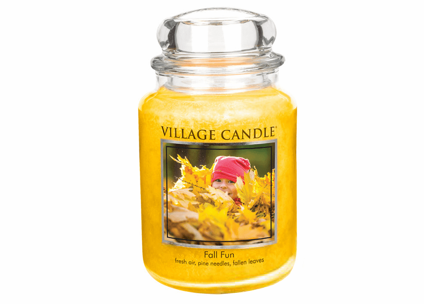 _DISCONTINUED - *Fall Fun 26 oz. Premium Round by Village Candles