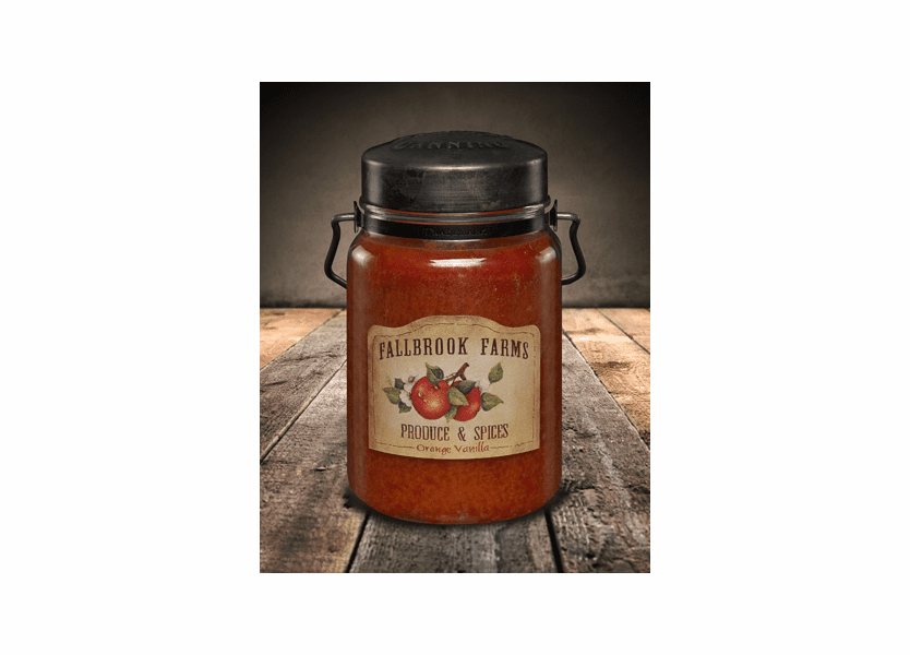 _DISCONTINUED - Fallbrook Farms 26 oz. McCall's Classic Jar Candle