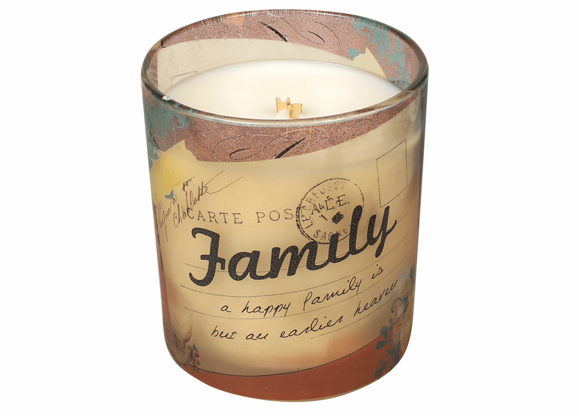 _DISCONTINUED - Family Inspirational Collection 10 oz. Jar WoodWick Candle