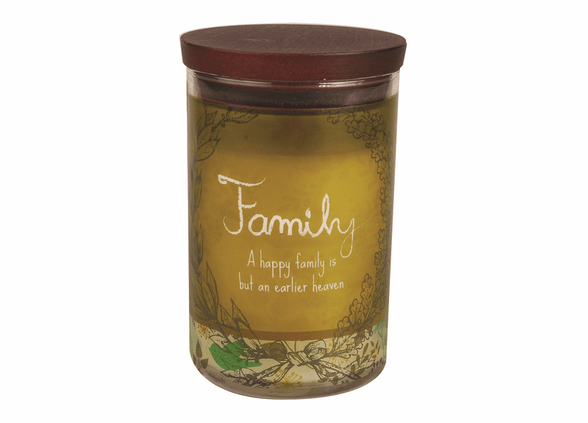 _DISCONTINUED - Family WoodWick Inspirational Collection Candle - 9.5 oz.