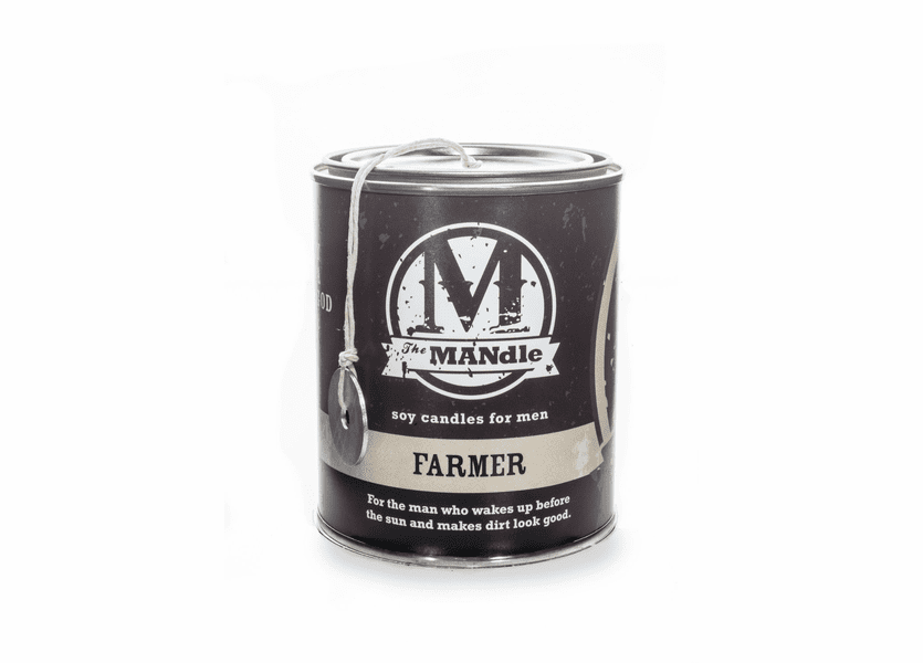 _DISCONTINUED - Farmer 15 oz. Paint Can MANdle by Eco Candle Co.