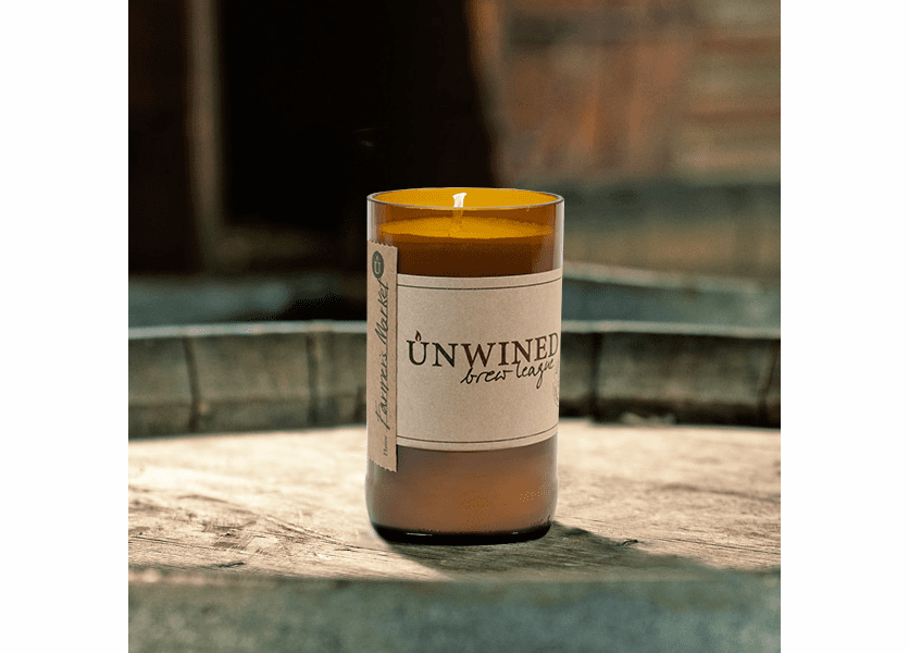 _DISCONTINUED - Farmer's Market 8 oz. Brew League Unwined Candle