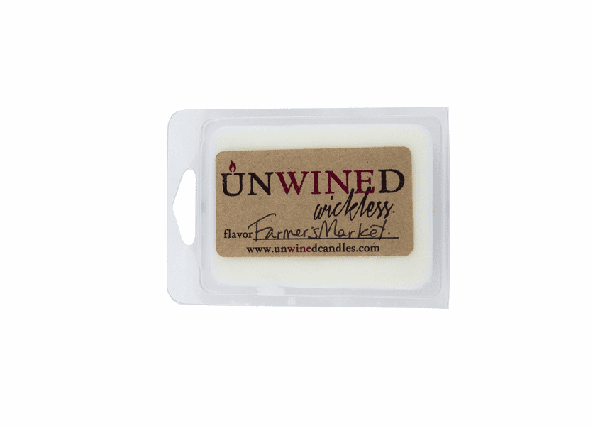 _DISCONTINUED - Farmer's Market Wickless Unwined Scented Wax Blocks