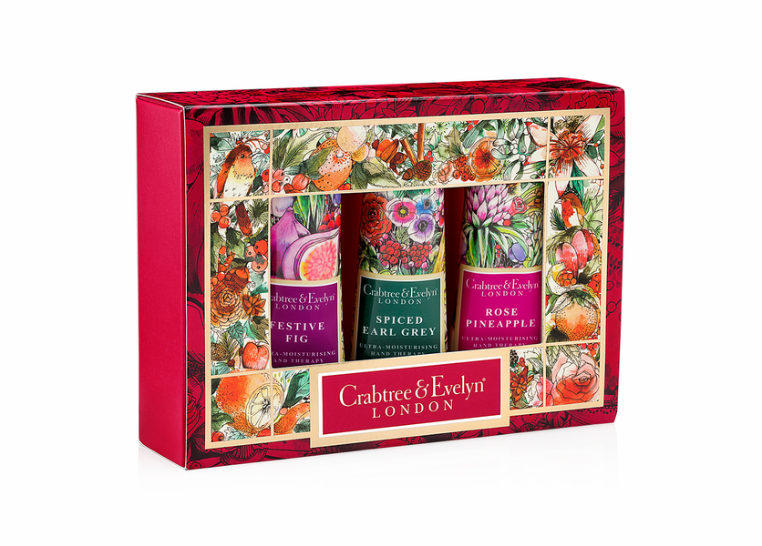 _DISCONTINUED - Festive Sampler (Set of 3) - Holiday Collection by Crabtree & Evelyn