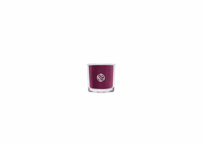 _DISCONTINUED - Fine Merlot Glass Votive Colonial Candle
