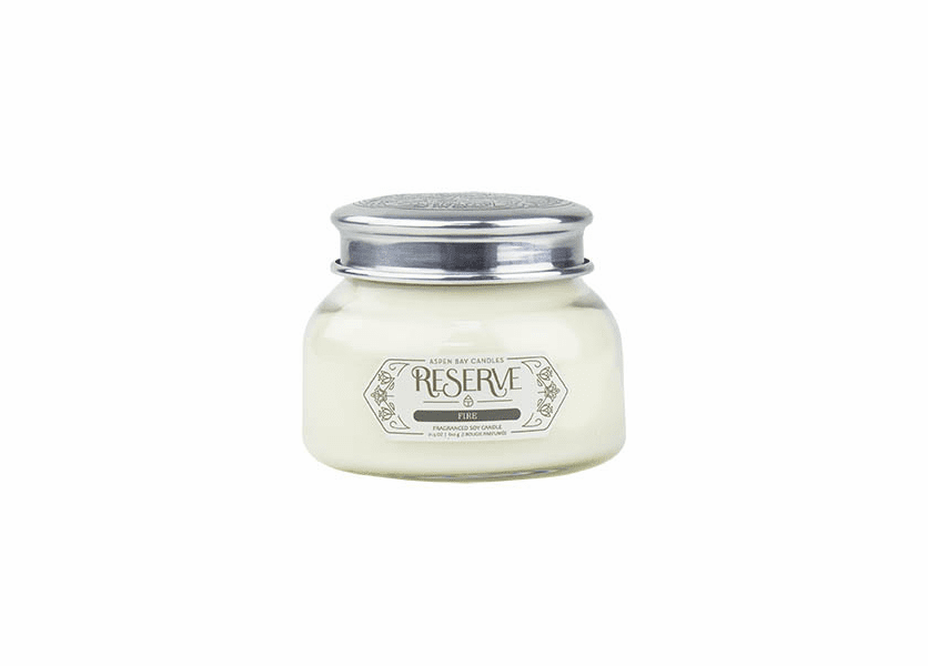 _DISCONTINUED - Fire 19 oz. Signature Jar Candle by Aspen Bay Candles