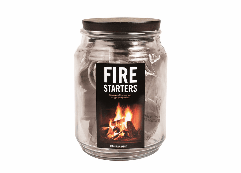 _DISCONTINUED - Fire Starters Jar by Virginia Gift Brands