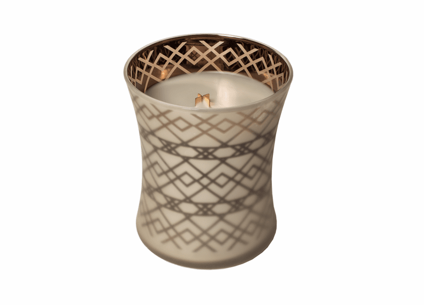 _DISCONTINUED - Fireside Dancing Glass WoodWick Candle